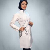 روپوش پزشکی مدل روزان 01
