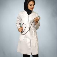 روپوش پزشکی مدل صبا چیتا بای 01